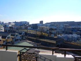南面バルコニーからの眺望