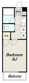 クレールハイムC3階Fの間取り画像
