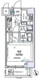 桜木町駅 徒歩15分5階Fの間取り画像