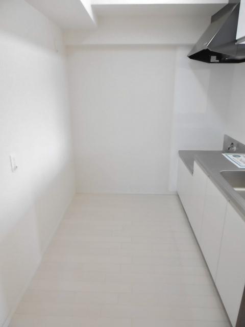キッチン後ろスペース