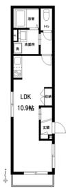 ル・ポール小竹向原1階Fの間取り画像