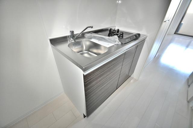Luxe今里Ⅱ 大きなキッチンはお料理の時間を楽しくしてくれます。