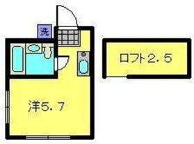エステート西横浜1階Fの間取り画像