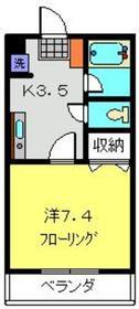 横浜元町ガーデン123階Fの間取り画像