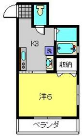 UT Flat1階Fの間取り画像