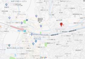 希望ヶ丘駅 徒歩4分案内図