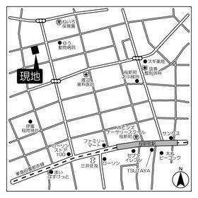 用賀駅 徒歩16分案内図