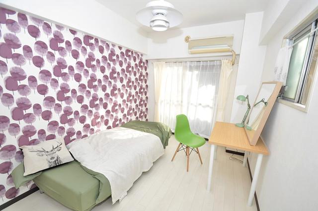 メゾンドール新今里 シンプルな単身さん向きのマンションです。