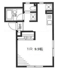 グランルーフ1階Fの間取り画像