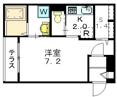 笹塚駅 徒歩6分間取図