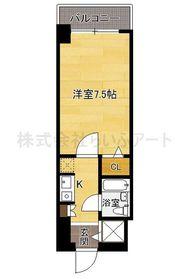 ラ・レジダンス・ド・福岡県庁前 : 5階間取図