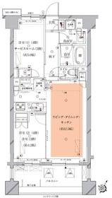 北千束駅 徒歩4分3階Fの間取り画像