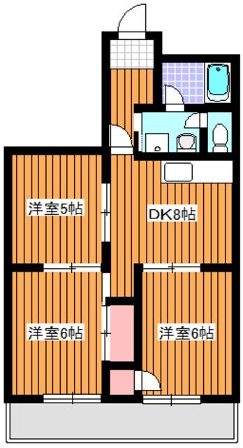 高島平駅 徒歩1分間取図