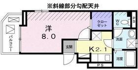 フランメゾン4階Fの間取り画像