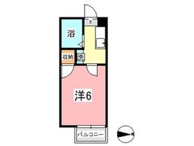 ゆめエリア Ⅱ1階Fの間取り画像