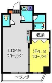 コルディア横濱サウス1階Fの間取り画像
