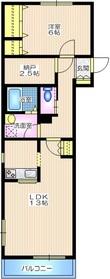 戸塚駅 徒歩28分1階Fの間取り画像