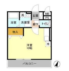 ラフィーネ・アン3階Fの間取り画像