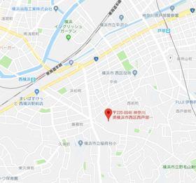 西横浜駅 徒歩9分案内図