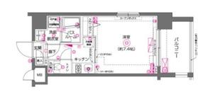 ZOOM川崎4階Fの間取り画像