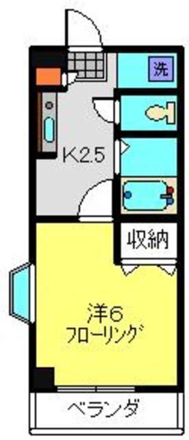 日吉駅 徒歩13分間取図