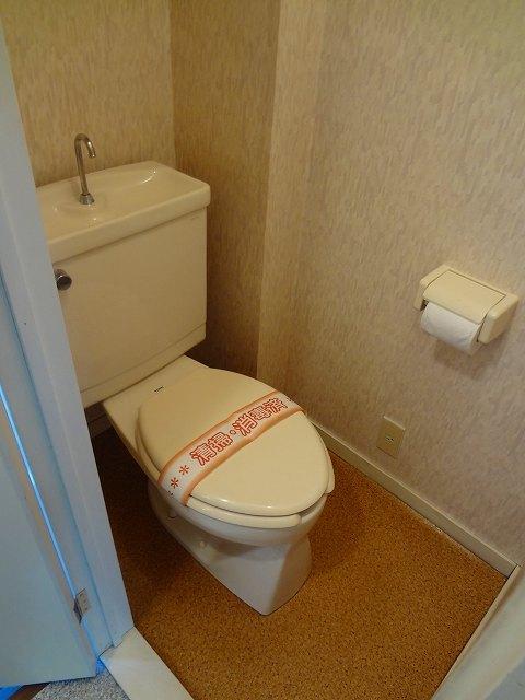 ツカヤマコートB棟トイレ