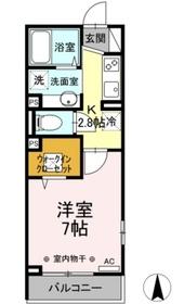 仮称)六角橋5丁目PJ2階Fの間取り画像