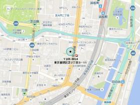 芝公園駅 徒歩7分案内図
