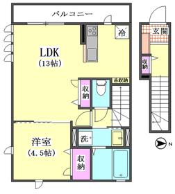 (仮称)西蒲田4丁目新築アパートD棟 202号室