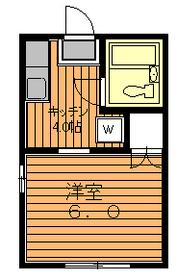 プルミエ駒沢B1階Fの間取り画像