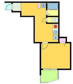 PMZ希望ヶ丘2階Fの間取り画像
