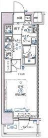 フェルクルールプレスト横浜弘明寺6階Fの間取り画像