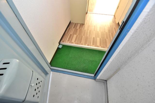 シャトーユキ 素敵な玄関は毎朝あなたを元気に送りだしてくれますよ。