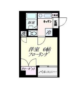 HOUZEN Ⅵ1階Fの間取り画像