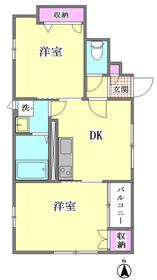アスール新井宿 A号室
