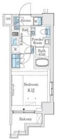 ベルファース大塚2階Fの間取り画像