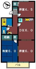 東海神駅 徒歩15分1階Fの間取り画像