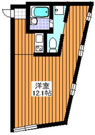 平和台駅 徒歩26分2階Fの間取り画像
