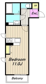 カトレア3階Fの間取り画像