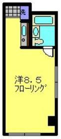 高田駅 徒歩21分1階Fの間取り画像