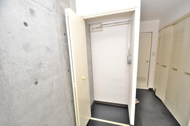 コルナス八戸ノ里 もちろん収納スペースも確保。いたれりつくせりのお部屋です。