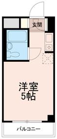 トップ稲城(TOP稲城)3階Fの間取り画像