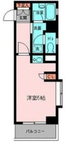 プライムアーバン鶴見寺谷2階Fの間取り画像
