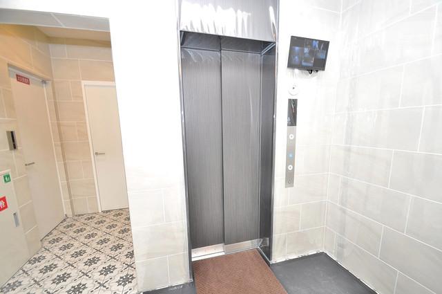 セイワパレス玉造上町台 嬉しい事にエレベーターがあります。重い荷物を持っていても安心