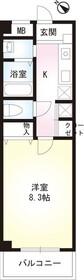 CHURA・SUNHEIM3階Fの間取り画像