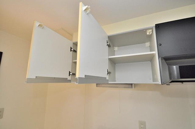 GRACE COURTⅡ キッチン上には収納もちゃんとありますよー
