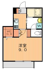 ボヌール駒沢1階Fの間取り画像