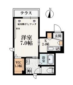 練馬駅 徒歩6分1階Fの間取り画像