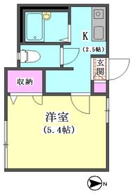 メゾーン�V 101号室