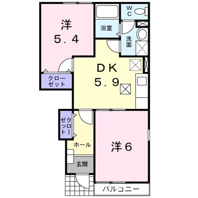 入谷駅 徒歩9分間取図